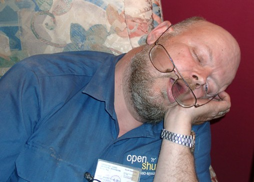 markku sleeping