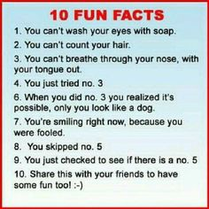10 facts