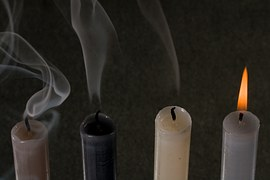 smoking candles