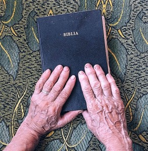 hand washing, old hands, Bible