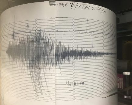 Paul Keen instagram earthquake