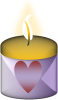 steps for peace candle