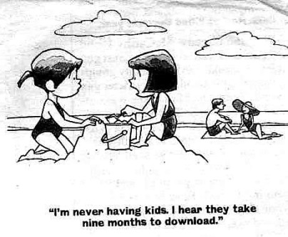 cartoon - kids having babies