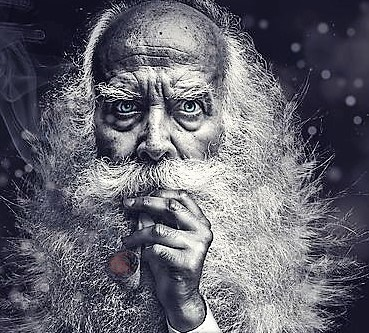 i dreamed a dream, old man with pipe