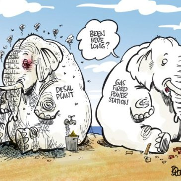 Think it through - elephant cartoon